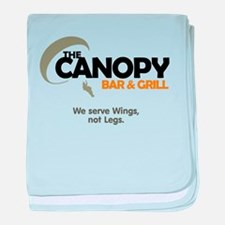 Canopy: baby blanket