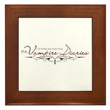 The Vampire Diaries Framed Tile