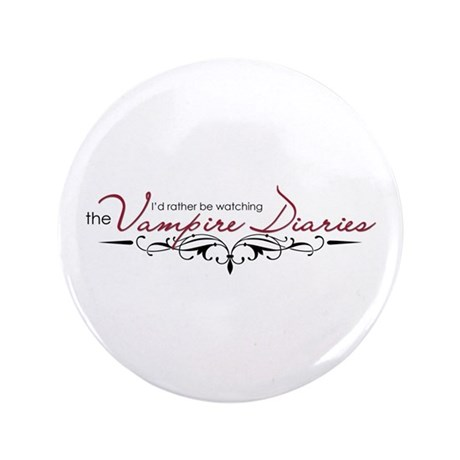 "The Vampire Diaries 3.5"" Button"