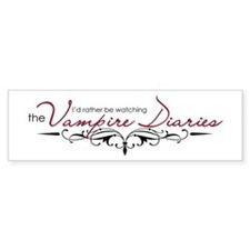 The Vampire Diaries Bumper Sticker