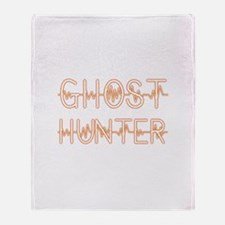 Cool Ghost hunters Throw Blanket