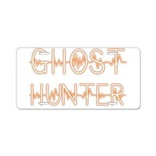 Cool Ghost hunters Aluminum License Plate
