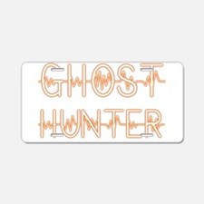 Ghost hunter Aluminum License Plate