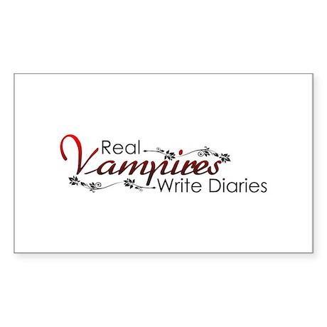 The Vampire Diaries Sticker (Rectangle)