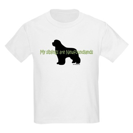 Newf Siblings Kids Light T-Shirt