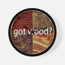 Got Wood Wall Clock