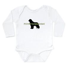 Newf Brother Long Sleeve Infant Bodysuit