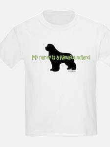 Newf Nanny T-Shirt