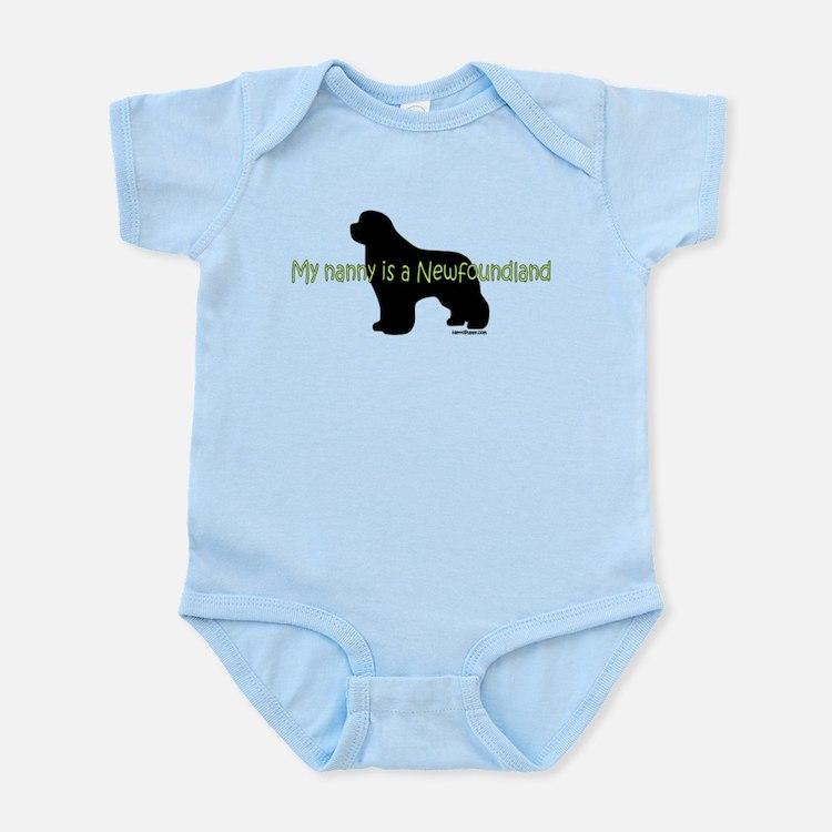 Newf Nanny Infant Bodysuit
