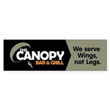 Canopy: Bumper Sticker