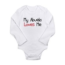 My Abuela Loves Me Long Sleeve Infant Bodysuit