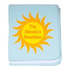 I'm Abuela's Sunshine baby blanket