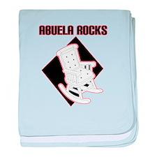 Abuela Rocks baby blanket