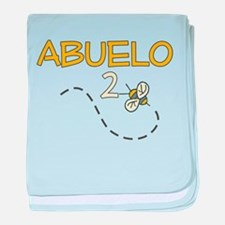 Abuelo to be (Bee) baby blanket