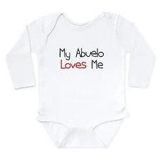 My Abuelo Loves Me Long Sleeve Infant Bodysuit