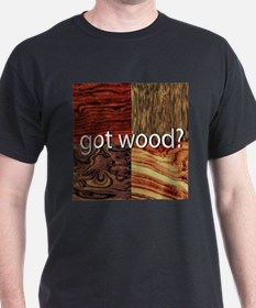 Got Wood Black T-Shirt