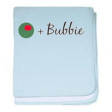 Olive Bubbie baby blanket