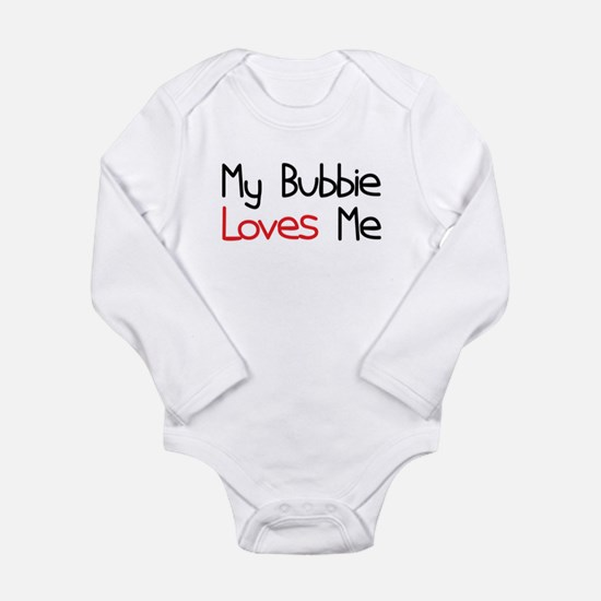 My Bubbie Loves Me Long Sleeve Infant Bodysuit
