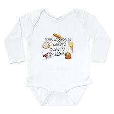 What Happens at Bubbie's... Long Sleeve Infant Bod