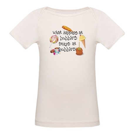 What Happens at Bubbie's... Organic Baby T-Shirt