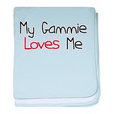 My Gammie Loves Me baby blanket