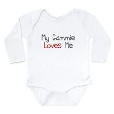 My Gammie Loves Me Long Sleeve Infant Bodysuit