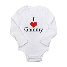 I Love (Heart) Gammy Long Sleeve Infant Bodysuit