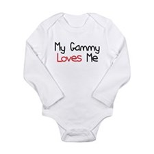 My Gammy Loves Me Long Sleeve Infant Bodysuit