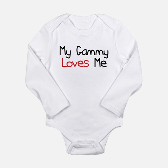 My Gammy Loves Me Long Sleeve Infant Bodysuit