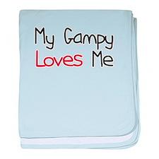 My Gampy Loves Me baby blanket