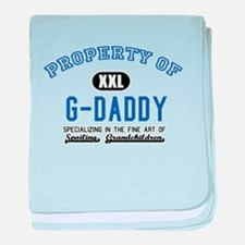 Property of G-Daddy baby blanket