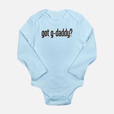 got g-daddy? Long Sleeve Infant Bodysuit