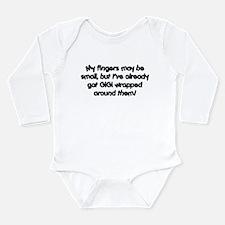 GiGi Wrapped Long Sleeve Infant Bodysuit