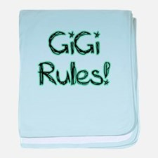 GiGi Rules! baby blanket