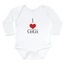I Love (Heart) GiGi Onesie Romper Suit