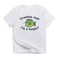 Gramma Says I'm a Keeper Infant T-Shirt