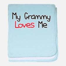 My Grammy Loves Me baby blanket