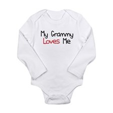 My Grammy Loves Me Long Sleeve Infant Bodysuit