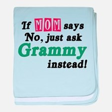 Just Ask Grammy! baby blanket