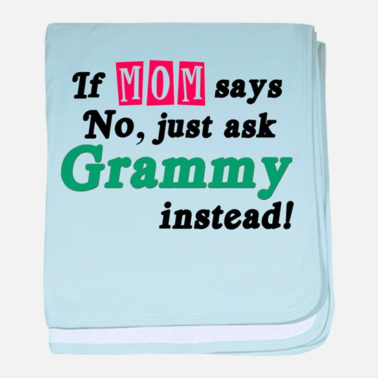 Just Ask Grammy! baby blanket