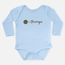 Olive Grampa Long Sleeve Infant Bodysuit