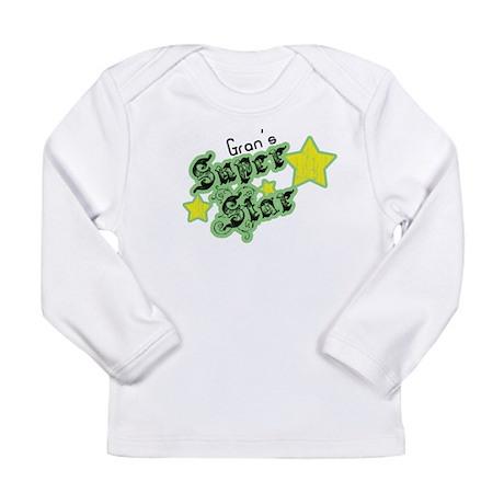 Gran's Super Star Long Sleeve Infant T-Shirt