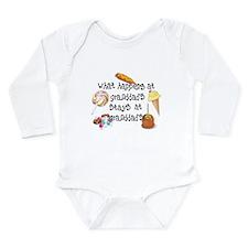 What Happens at Granddad's... Long Sleeve Infant B
