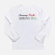 Mommy's Devil, Grandma's Angel Long Sleeve Infant