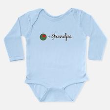 Olive Grandpa Long Sleeve Infant Bodysuit