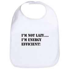 I'm energy efficient! Bib