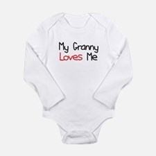 My Granny Loves Me Long Sleeve Infant Bodysuit