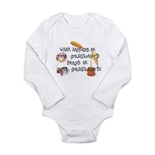 What Happens at Great Grandmo Long Sleeve Infant B