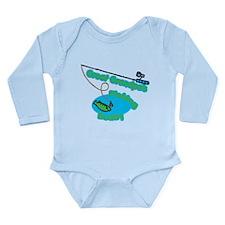Great Grandpa's Fishing Buddy Baby Outfits
