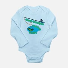 Great Grandpa's Fishing Buddy Baby Outfits